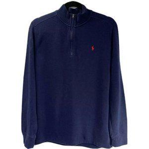 Polo Ralph Lauren 1/4 Zip Sweatshirt Pullover L/S
